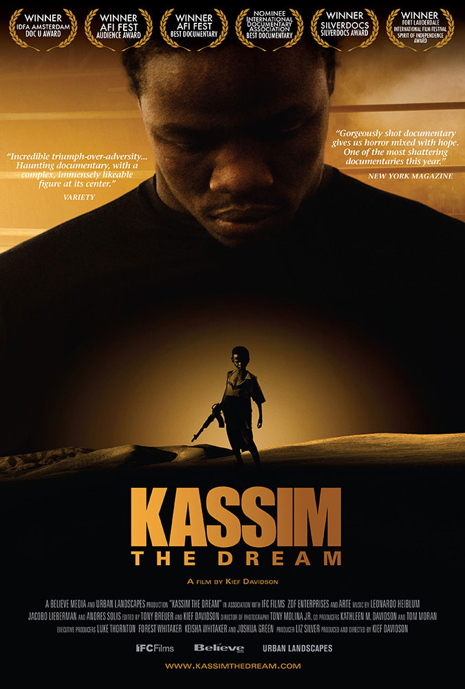 Kief Davidson – Kassim the Dream – Key Art