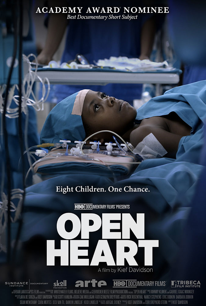 Kief Davidson – Open Heart – Key Art