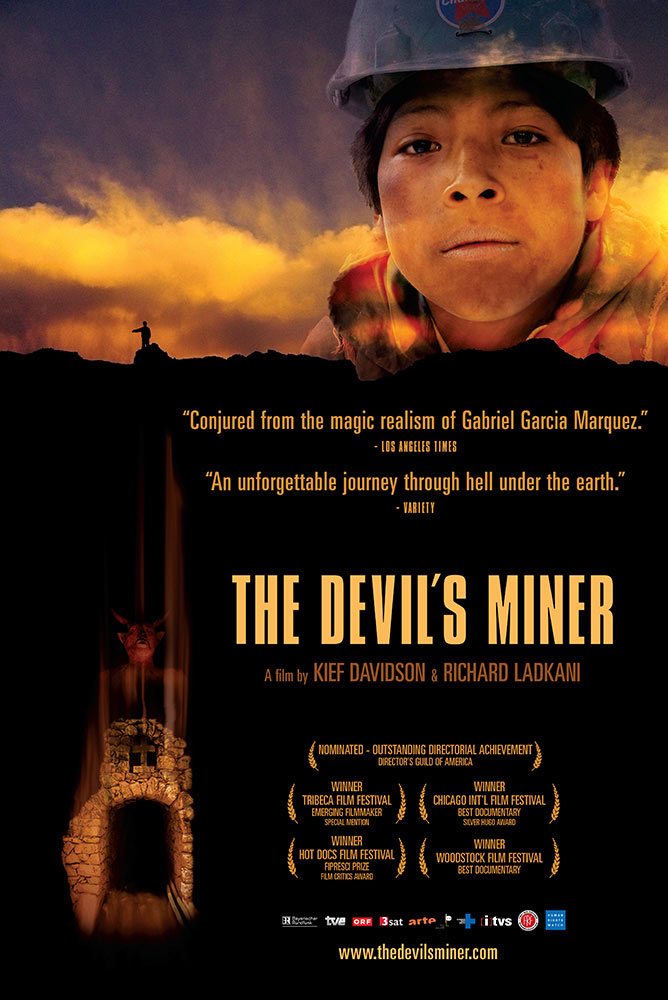 Kief Davidson – The Devil's Miner – Key Art