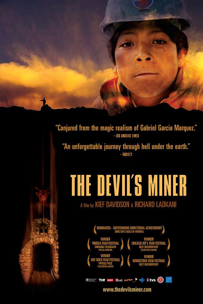 Kief Davidson – The Devil's Miner – Key Art